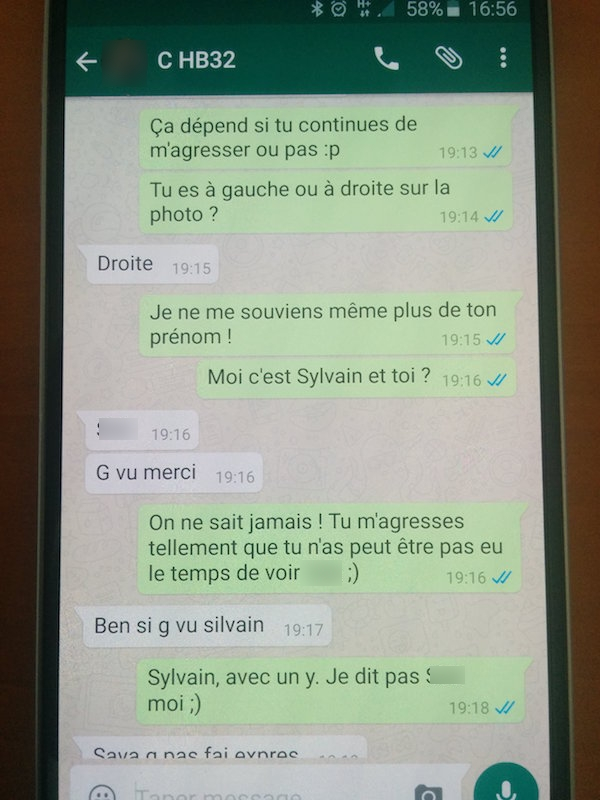 Groupe whatsapp rencontre france
