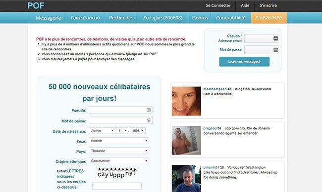 site de rencontre pof en france)