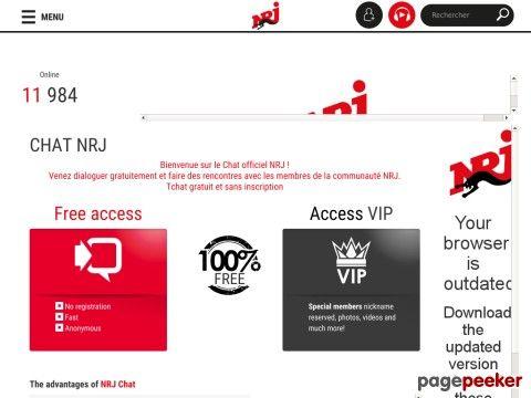tchat nrj rencontre gratuit site de rencontre 100 gratuit picardie