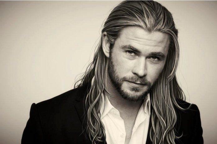 cherche homme cheveux long