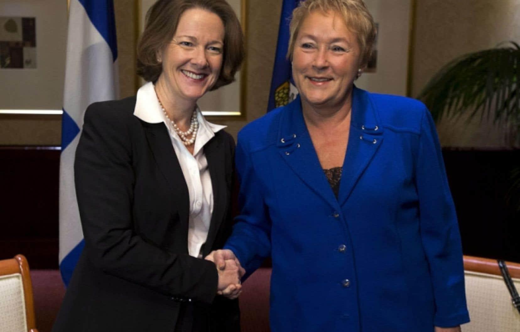 Justin Trudeau rencontre Pauline Marois | Politique | Actualités | Le Soleil - Québec