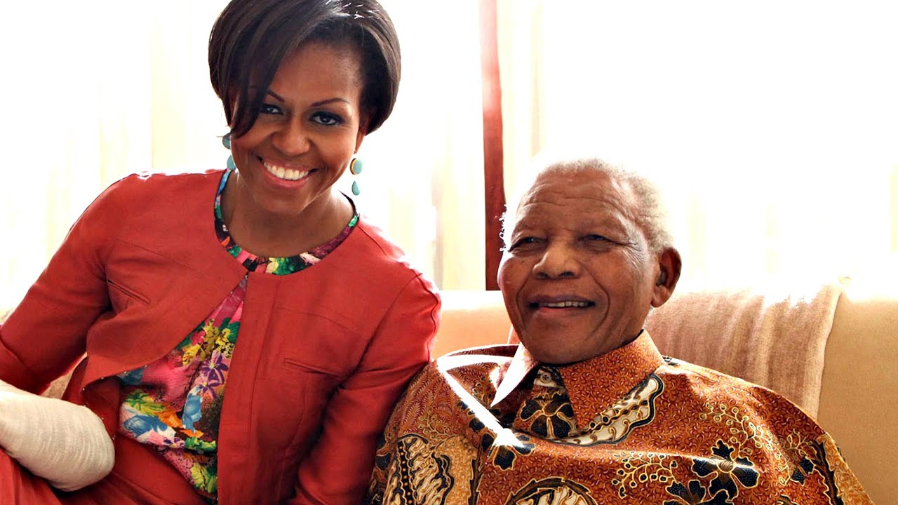 rencontre obama mandela