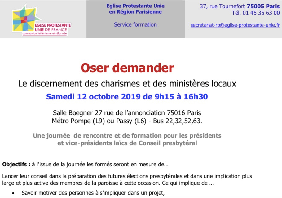 rencontre region parisienne)