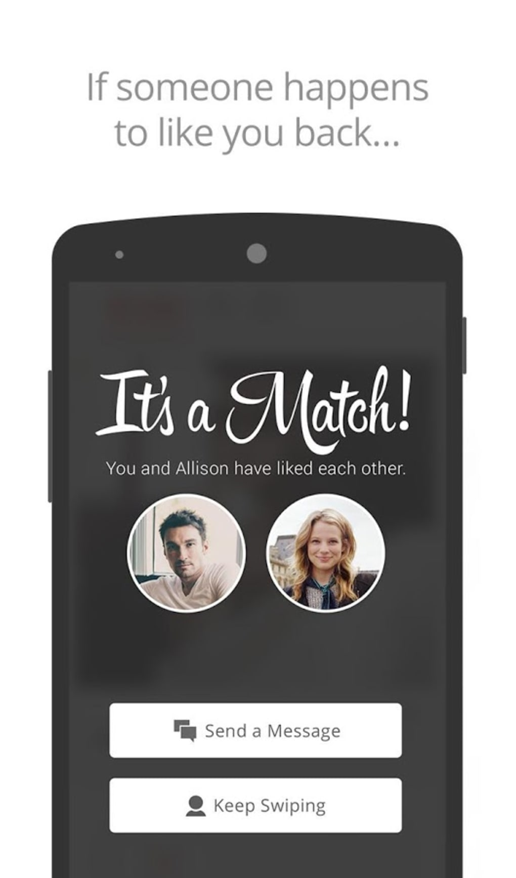 application rencontre tinder android