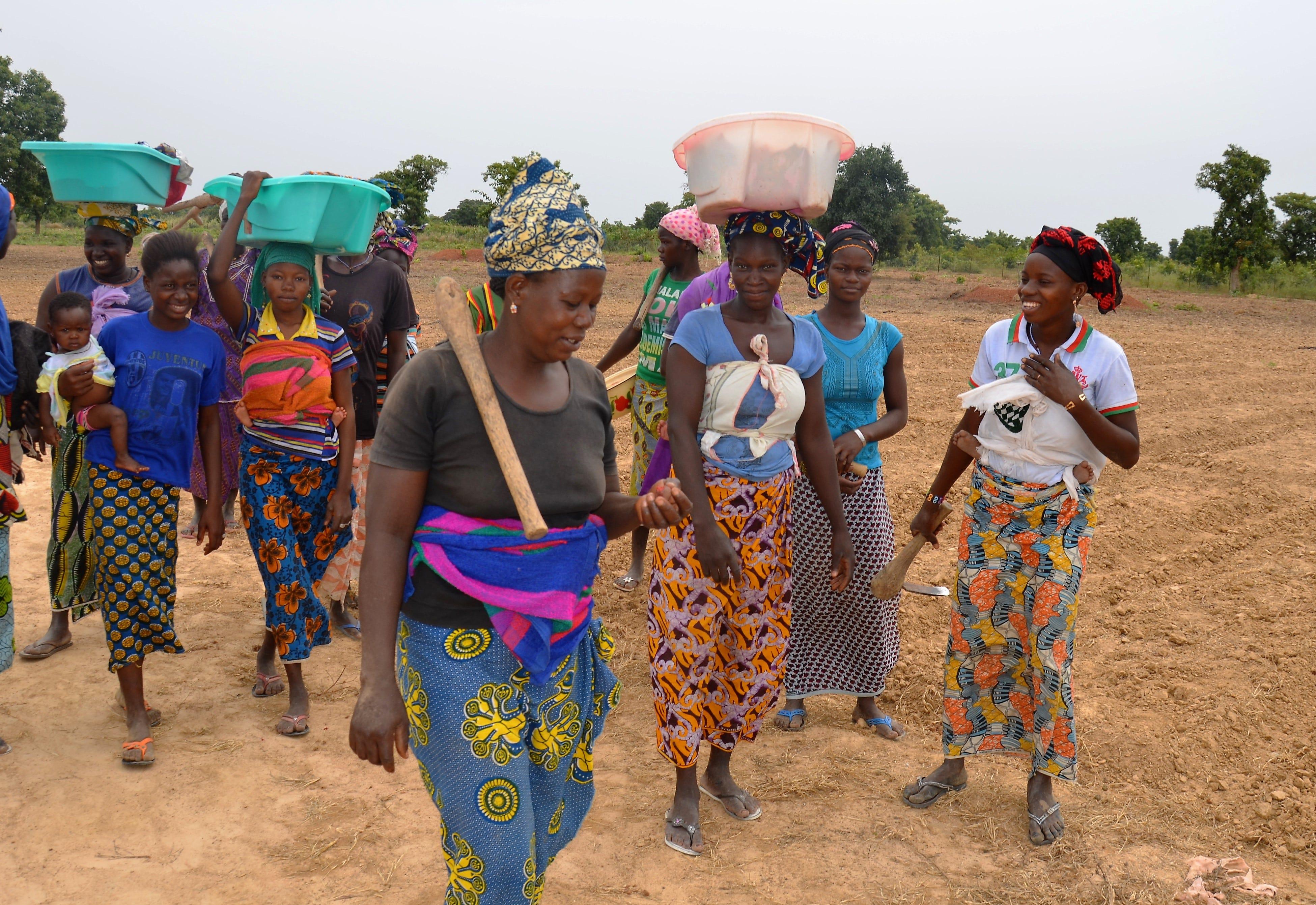 Région de Koulikoro en images   QUAND LE VILLAGE SE REVEILLE