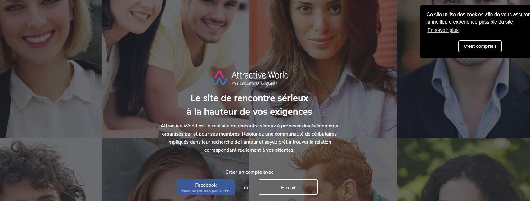 site de rencontres attractive world