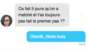 exemple de message site rencontre)