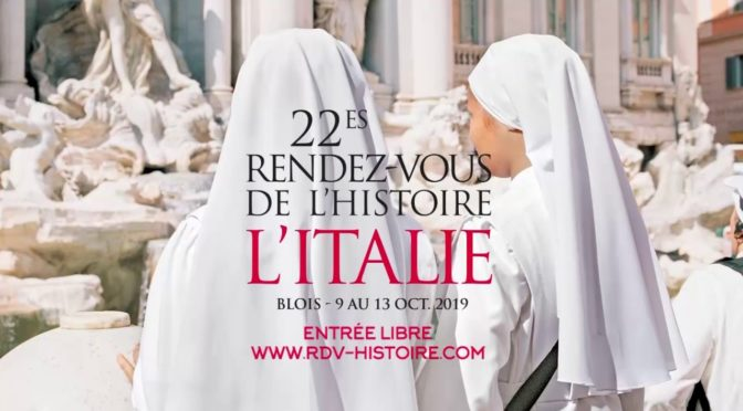 rencontres histoire blois 2019