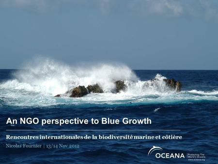 rencontres internationales de la biodiversité marine et côtière