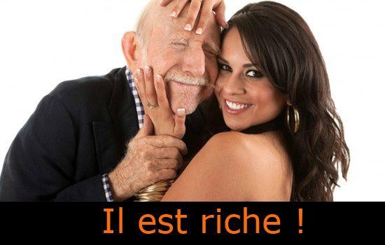 jeune homme cherche femme riche