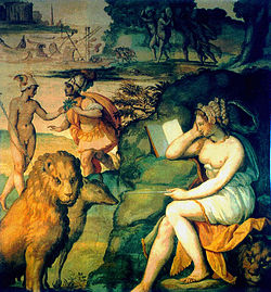 Circé, magicienne de l'Odyssée d'Ulysse de la mythologie grecque
