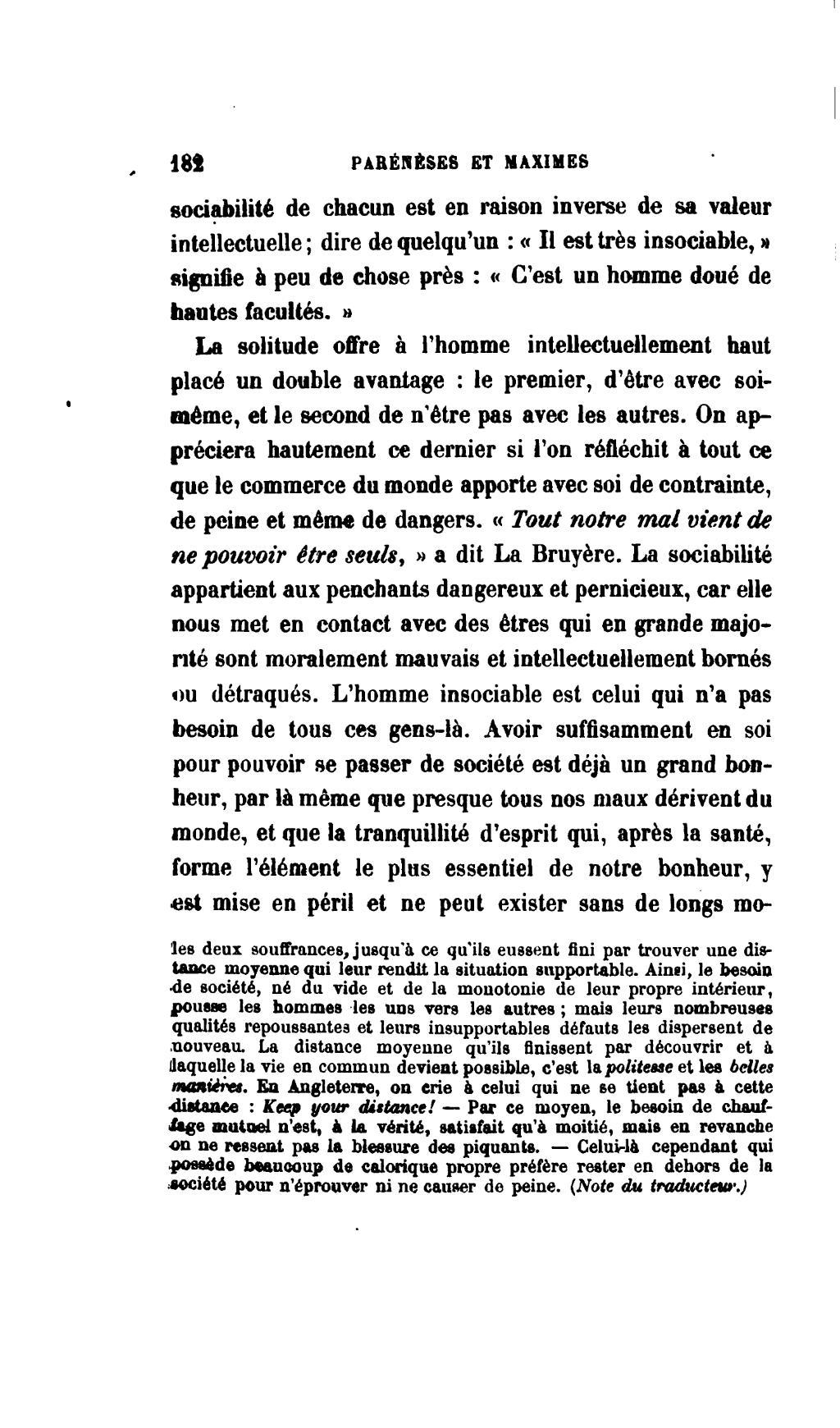 Citation Solitude, Humanite & Recherche (Hazrat Ali - Phrase n°) - CITATION CÉLÈBRE