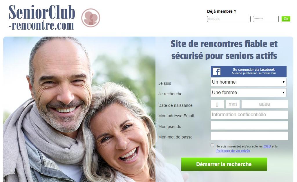 Site de rencontres pour les seniors