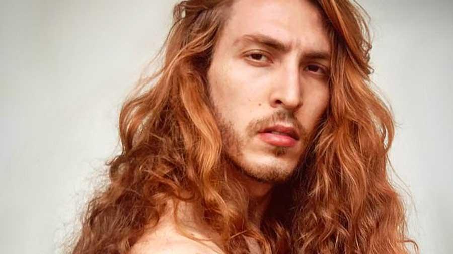 recherche mannequin homme roux)