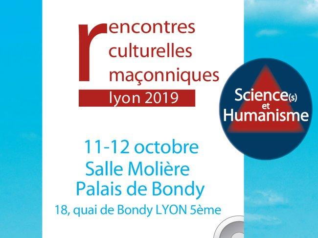 rencontre science et humanisme 2019)