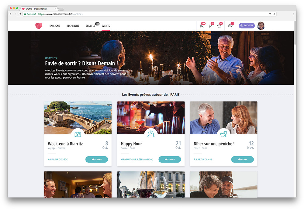 Site de rencontre pour cinquantenaire - Dating site - click and find mutual relations looking