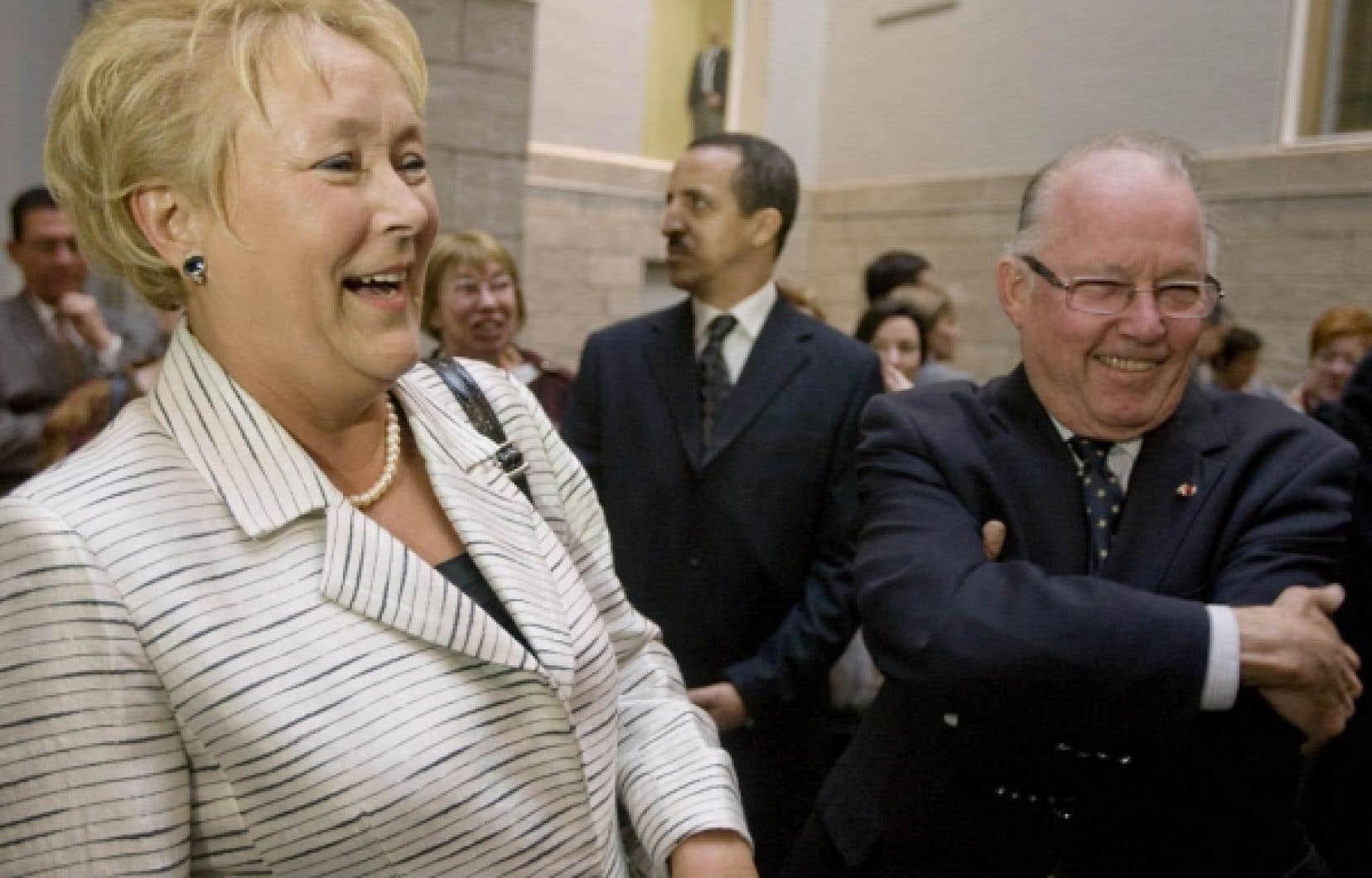 Pauline Marois a toujours foi en l'avenir du Parti québécois
