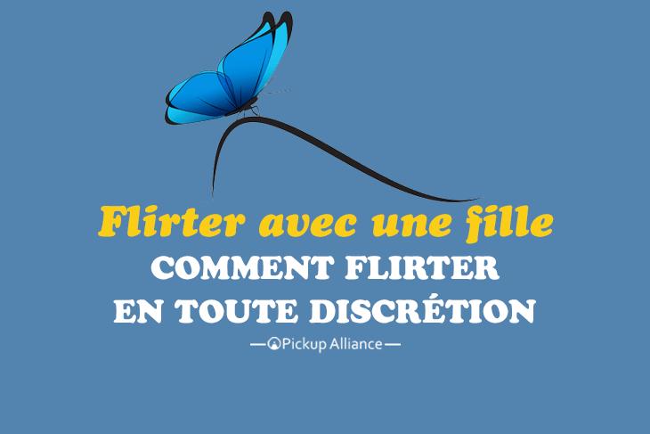 le mot flirter