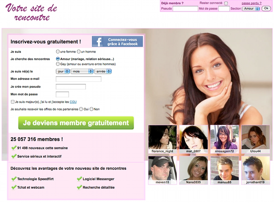 what is site de rencontre