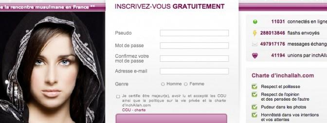 Avis Inshallah, mon test du site de rencontre pour musulman francophone