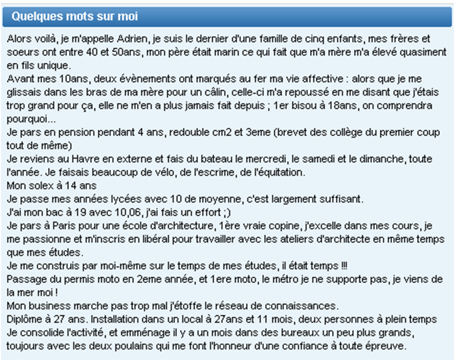 description site de rencontre marrante)