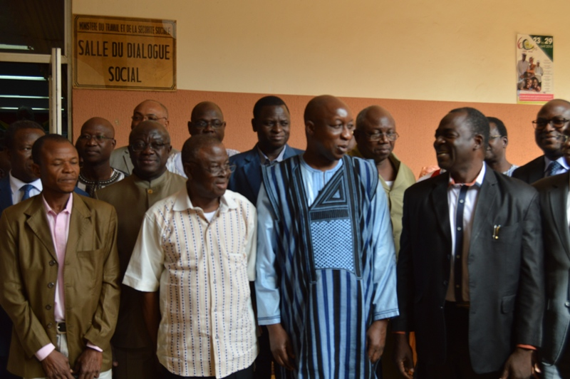 rencontre gouvernement syndicat au burkina