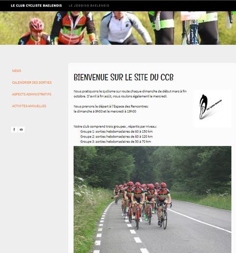 site rencontre cycliste)