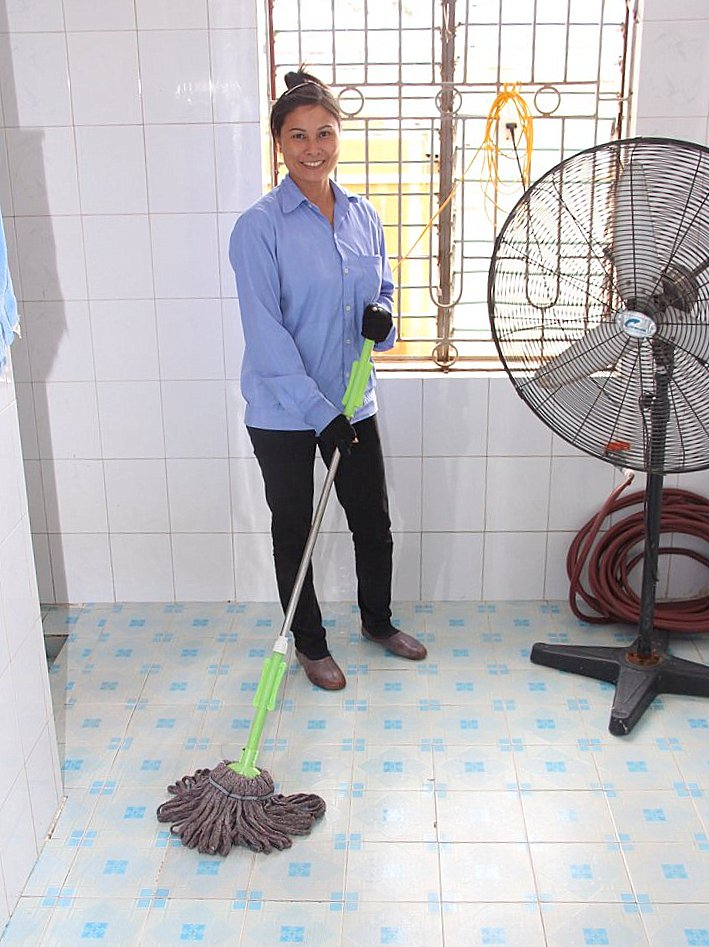الوظيفة Femme de ménage - Entreprise de nettoyage