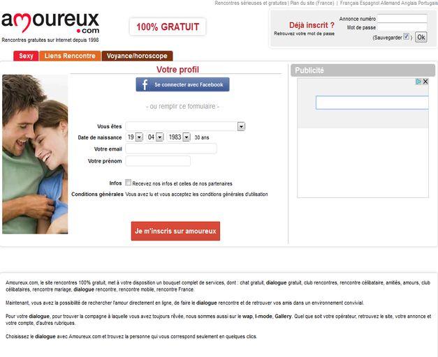 site de rencontre 100 gratuit paris