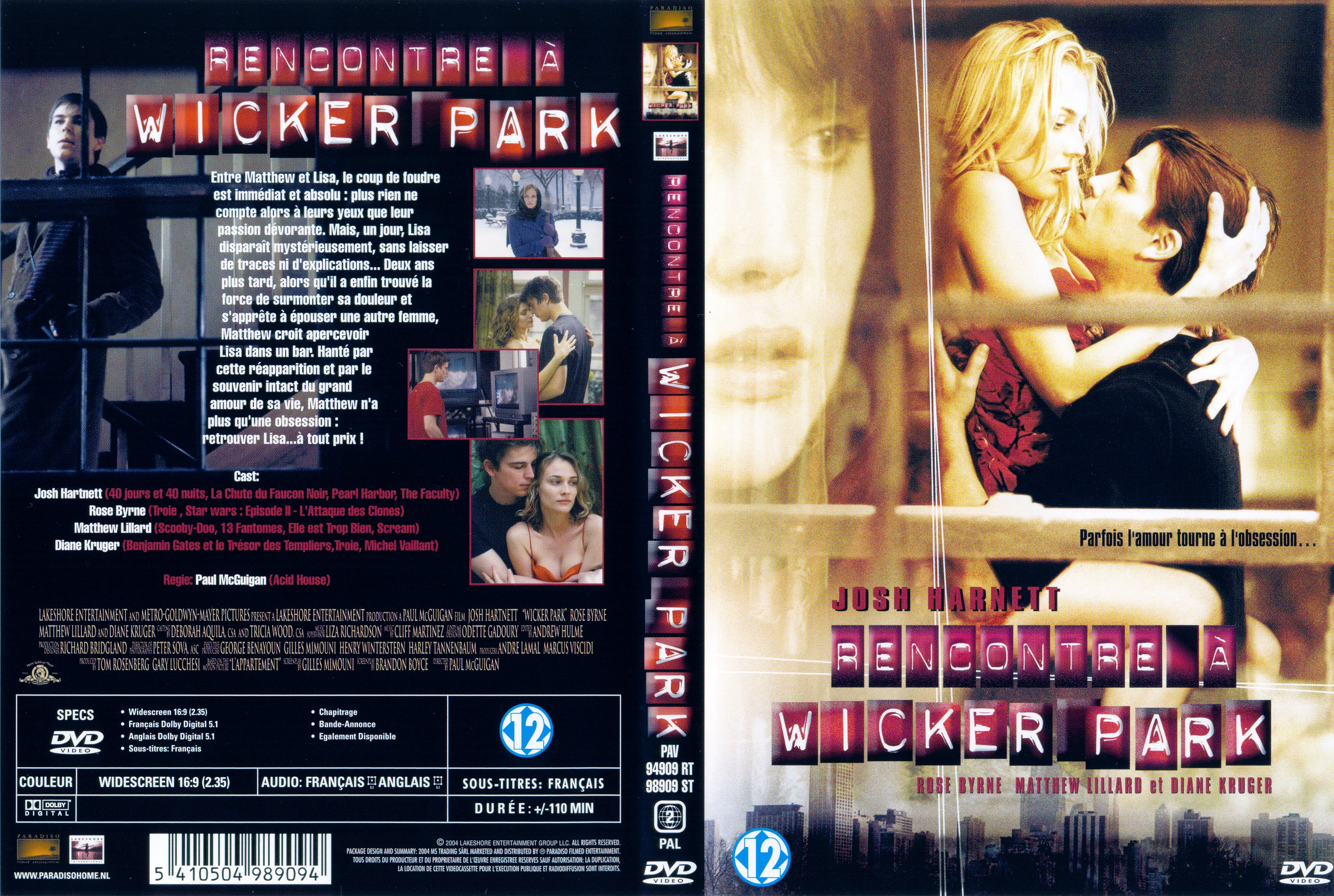 Minutes film rencontre à wicker park streaming