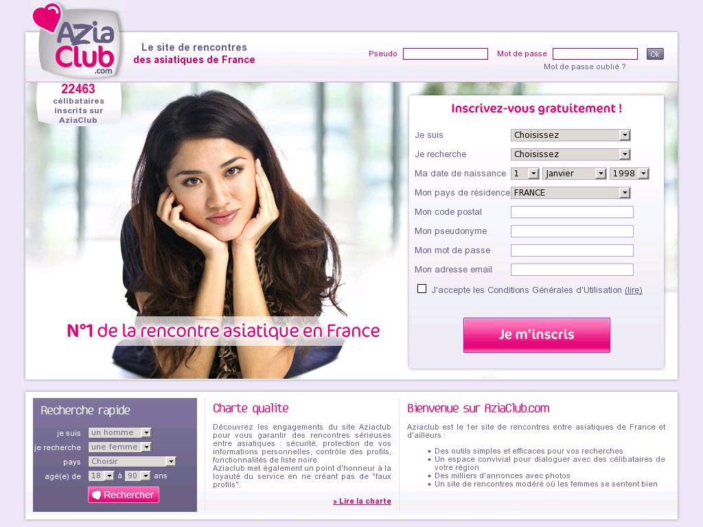 site de rencontre gratuit asiatique en france)