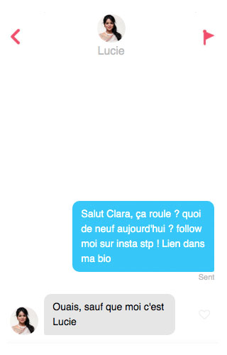 exemple de 1er message site de rencontre)