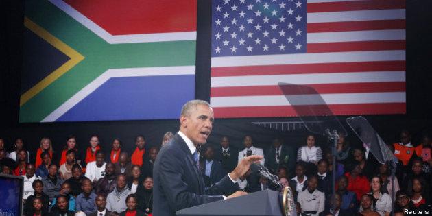 rencontre obama mandela