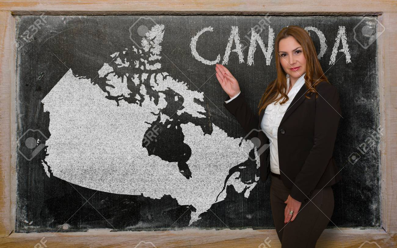 recherche jeune femme canadienne