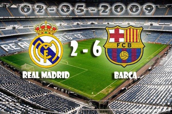 Statistiques de Barcelone et Real Madrid (stats, resultats, scores, historique, classement)