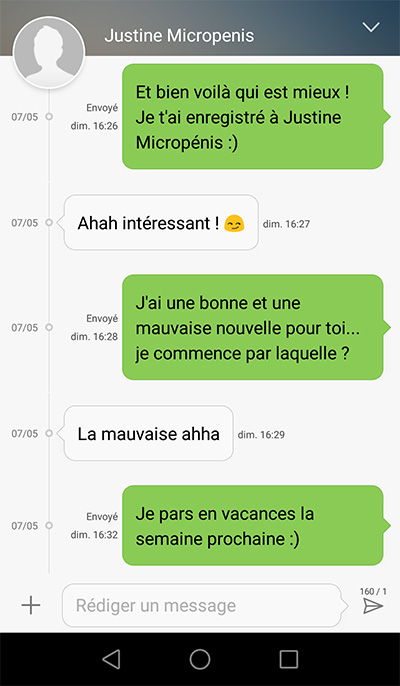 flirter par sms)