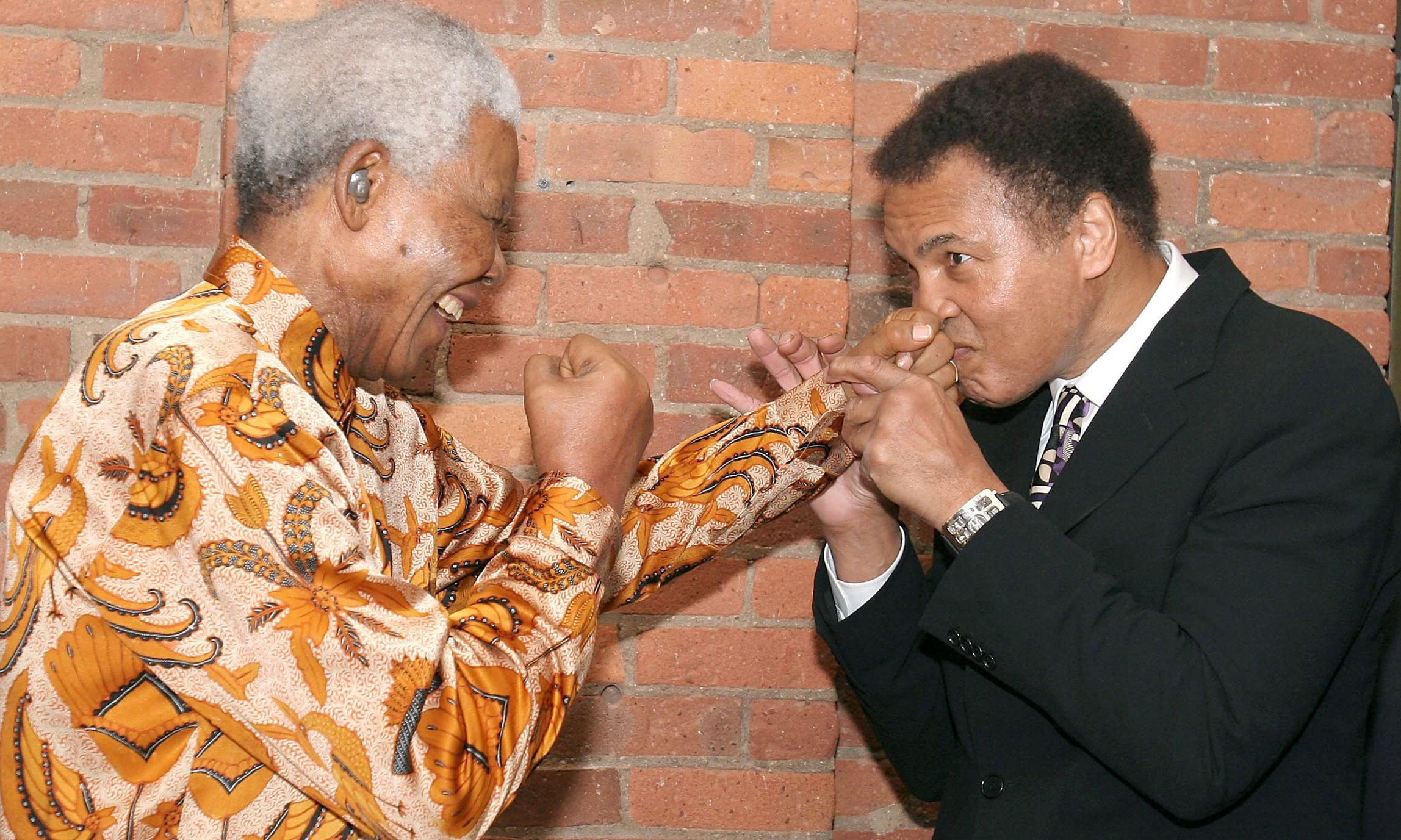 rencontre obama mandela)