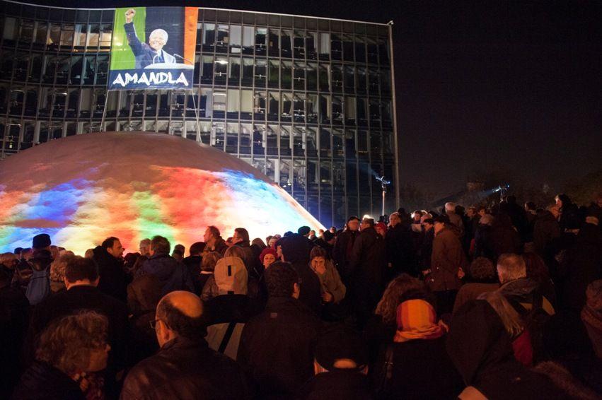 Rencontre nationale avec le peuple d'Afrique du Sud. France