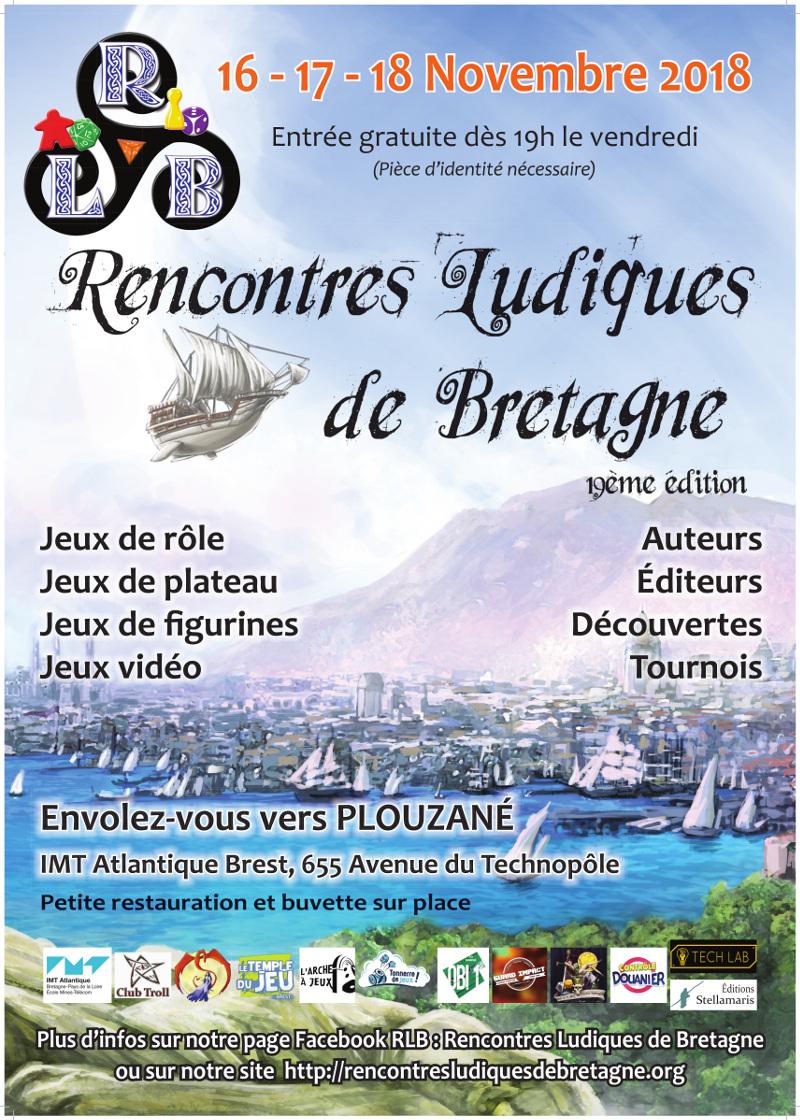 Archivé: Rencontres Ludiques de Bretagne – 7 et 8 avril 2018 - Archive