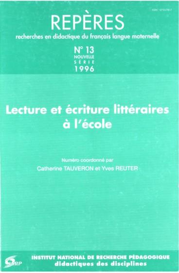 20es Rencontres des Chercheurs et Chercheuses en Didactique de la Littérature - ecolalies.fr