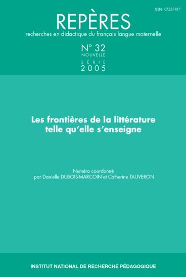 14e rencontres des chercheurs en didactique de la littérature