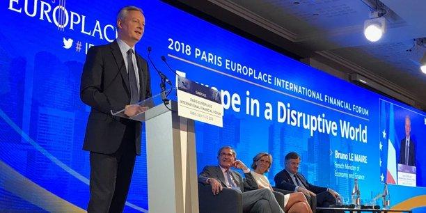 Discours du Premier ministre aux rencontres financières Paris Europlace   ecolalies.fr