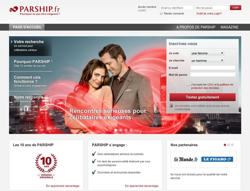 site web de rencontres