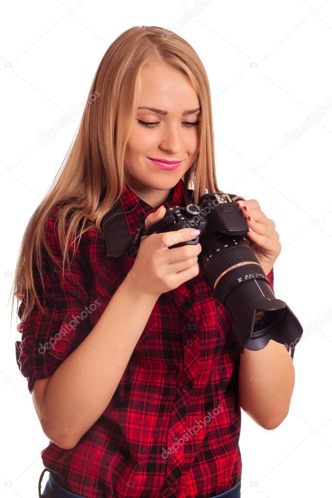 femme cherche photographe)