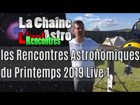 rencontre astronomique printemps 2019