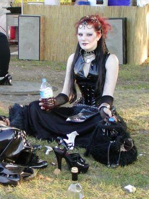 fille gothique rencontre
