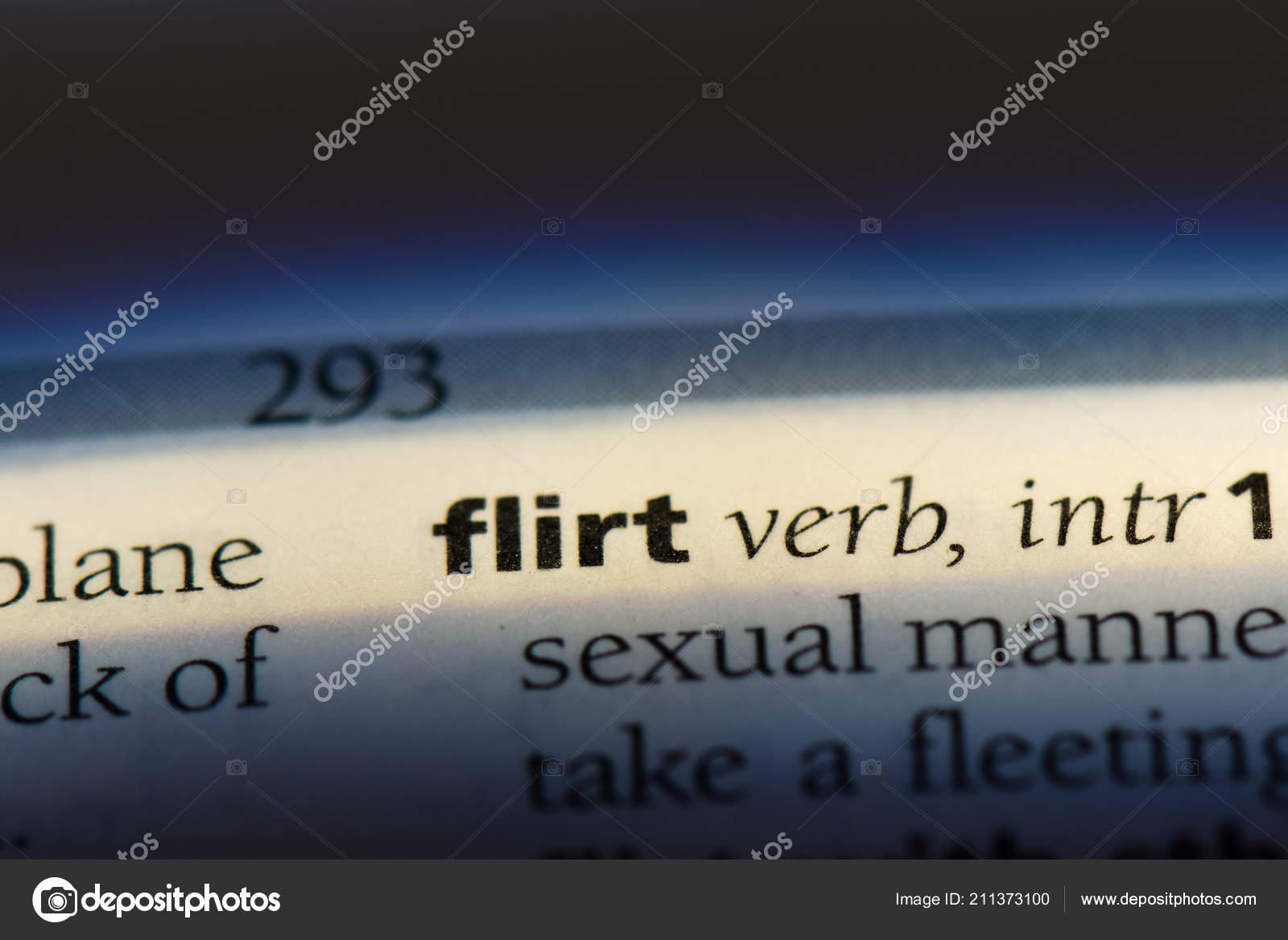 flirter definition english