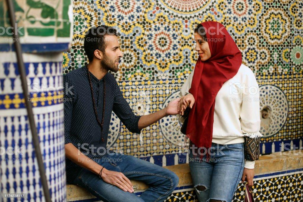 flirter en marocain)