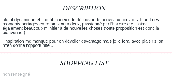 modèle description site de rencontre)