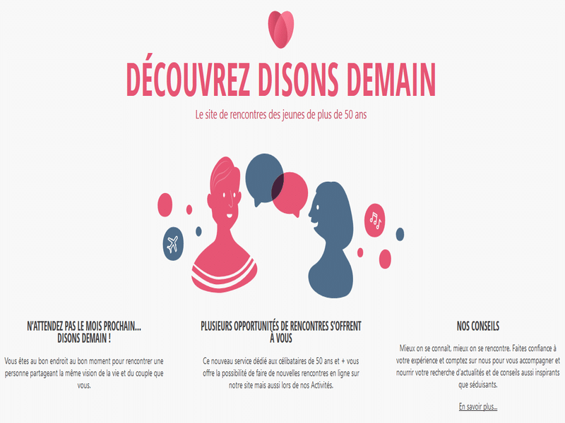 Disons Demain par Meetic